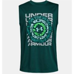アンダーアーマー(スポーツオーソリティ)(under armour)/ジュニアアパレル 19S UA DIAL WORDMARK TANK