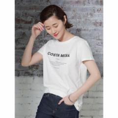セブンデイズサンデイ(レディース)(SEVENDAYS SUNDAY)/・コスタメサロゴプリントTシャツ