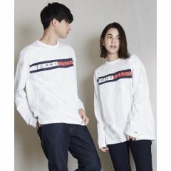 トミーヒルフィガー(メンズ)(TOMMY)/ロゴ ロング Tシャツ/SPORTINO LS TEE