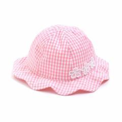 エフオーオンラインストア(F.O.Online Store(SC))/ベビーギンガムチェックUVカット帽子