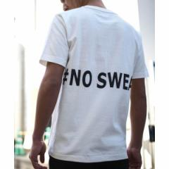 A・S・M(A.S.M)/No sweat.コラボT / バックプリント Tシャツ