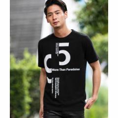 【NEW】A・S・M(A.S.M)/ナンバーロゴ&メッセージプリント / クルーネックTシャツ(半袖)