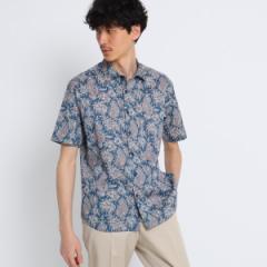 タケオキクチ(TAKEO KIKUCHI)/トロピックペイズリー半袖シャツ Fabric by Liberty(R)