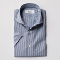 ノーリーズ メンズ(NOLLEY'S)/イージーアイロンワイドカラー半袖シャツ