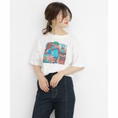 KBF(KBF)/レディスカットソー(UTOMARU×KBF Tシャツ)