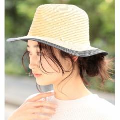 ビス(ViS)/【UV CUT & 抗菌防臭】バイカラー中折れハット