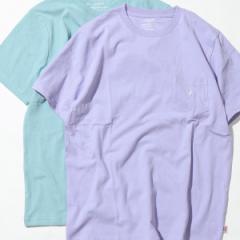 コーエン(メンズ)(coen)/USAコットンペールカラークルーネックTシャツ