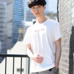 コーエン(メンズ)(coen)/ミニマムロゴ刺繍Tシャツ
