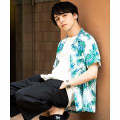 【NEW】ウィゴー(メンズ)(WEGO)/アロハシャツ
