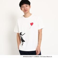 ザ ショップ ティーケー(メンズ)(THE SHOP TK Mens)/グラフィック半袖Tシャツ バンクシー