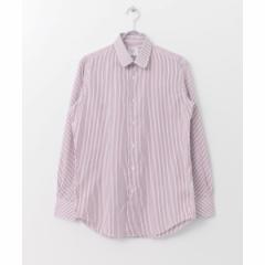 アーバンリサーチ(メンズ)(URBAN RESEARCH)/メンズシャツ(URBAN RESEARCH Tailor ラウンドカラーストライプシャツ)