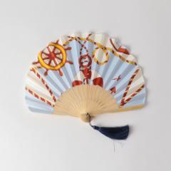 【NEW】エメル リファインズ(EMMEL REFINES)/○manipuri(マニプリ)marine 扇子