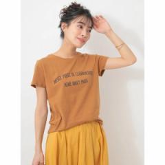 セブンデイズサンデイ(レディース)(SEVENDAYS SUNDAY)/・フレンチロゴプリントTシャツ