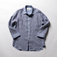ノーリーズ メンズ(NOLLEY'S)/ハードマンズリネン 七分袖シャツ