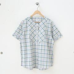 コーエン(レディース)(coen)/綿麻チェックシャツブラウス