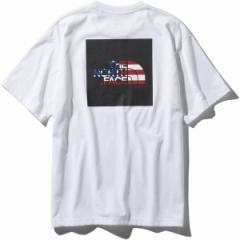 ザ・ノース・フェイス(スポーツオーソリティ)(northface)/トレッキング S/S National Flag Square Logo Tee
