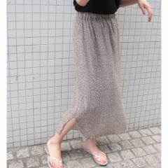 【NEW】ロペピクニック(ROPE' PICNIC)/ヨウリュウ風フラワープリントスカート