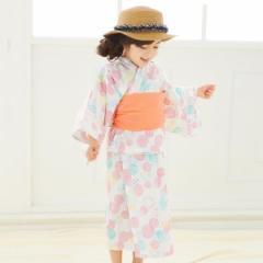 【NEW】エフオーオンラインストア(F.O.Online Store(SC))/水彩アクア柄浴衣セット
