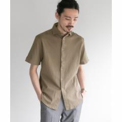 アーバンリサーチ(メンズ)(URBAN RESEARCH)/メンズシャツ(URBAN RESEARCH Tailor COTTON PIQUE JERSEY S/S)