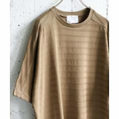 アーバンリサーチ ドアーズ(メンズ)(URBAN RESEARCH DOORS)/メンズTシャツ(シャドーボーダーTシャツ)