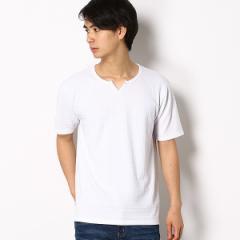 【NEW】メンズビギ(MEN'S BIGI)/【追加生産決定】SOLATINA(ソラチナ)別注キーネックジャガードTシャツ