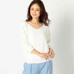 【NEW】ミューズ リファインド クローズ(MEW'S REFINED CLOTHES)/畦ボートVネックニット