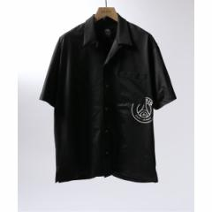 【NEW】エディフィス(EDIFICE)/メンズシャツ(Paris Saint−Germain TOKYO / パリサンジェルマン EMBLEM OP S/S)