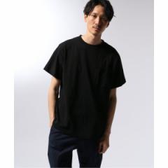 【NEW】エディフィス(EDIFICE)/メンズTシャツ(THE NORTH FACE PURPLE LABEL 7oz H/S Pocket Tee)