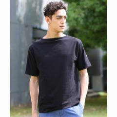 【NEW】エディフィス(EDIFICE)/メンズTシャツ(SAINT JAMES / セント ジェームス PIRIAC ムジ)