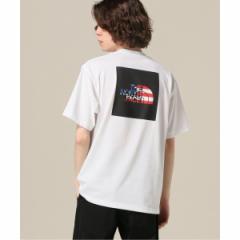 【NEW】417エディフィス(417 EDIFICE)/メンズTシャツ(THE NORTH FACE / ザ ノースフェイス S/S NATIONAL FLAG TEE)