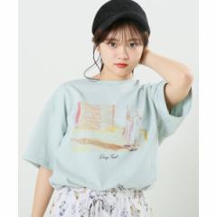 【NEW】レイカズン(RAY CASSIN)/フォトプリント転写Tシャツ