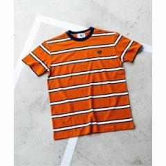 【NEW】エディフィス(EDIFICE)/メンズTシャツ(ROLAND GARROS × EDIFICE 別注 MULTI STRIPE Tシャツ)