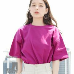 ロペピクニック(ROPE' PICNIC)/【SEABREEZE×ROPE  PICNIC】カラーTシャツ