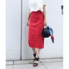 アクアガール(aquagirl)/バイオリネン ストレートスカート
