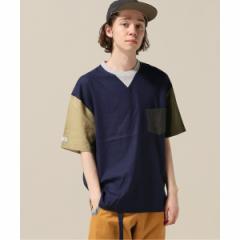 【NEW】417エディフィス(417 EDIFICE)/メンズTシャツ(gym master / ジムマスター アサレーヨンカットソー)