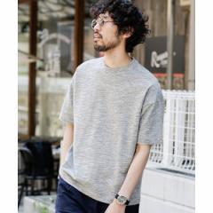 ナノ・ユニバース(メンズ)(nano universe)/【WEB限定】【19SS】ミックスカノコビッグシルエットTシャツ