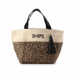シップス(レディース)(SHIPS for women)/タッセル ポケットトートバッグ