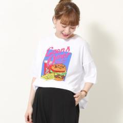 コーエン(レディース)(coen)/coen diner ワイドTシャツ