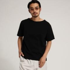 ベース ステーション(メンズ)(BASE STATION Mens)/SB USA コットン バスク 半袖 Tシャツ