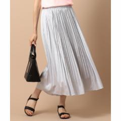 エニィスィス(any SiS)/【泉里香さん着用】ビンテージサテンプリーツ スカート