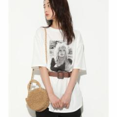 ビス(ViS)/【ブリジットバルドー×ViS】フォトチュニックTシャツ