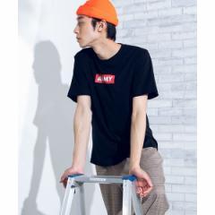 【NEW】ウィゴー(メンズ)(WEGO)/ARMYボックスロゴTシャツ
