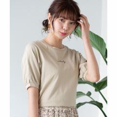 ウィゴー(レディース)(WEGO)/バックオープンリボンTシャツ