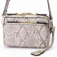 カシュカシュ(cache cache)/お財布ショルダー お財布機能付きボックス型ショルダーバッグ