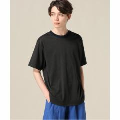 【NEW】417エディフィス(417 EDIFICE)/メンズTシャツ(トルファンスムース エリハイショクTシャツ)