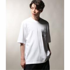 【NEW】ジャーナルスタンダード レリューム(メンズ)(JOURNAL STANDARD relume)/メンズTシャツ(ADIDAS / アディダス  OUTLINE TEE)
