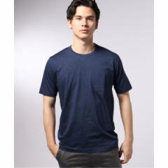 【NEW】エディフィス(EDIFICE)/メンズTシャツ(シルケットテンジク クルーネック Tシャツ)