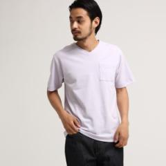【NEW】ベース ステーション(メンズ)(BASE STATION Mens)/SB ポンチ Vネック 半袖Tシャツ