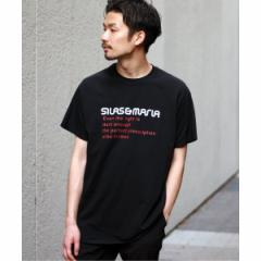 【NEW】417エディフィス(417 EDIFICE)/メンズTシャツ(【WEB限定】SILAS / サイラス × 417 別注 LIMIT TEE)