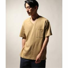 【NEW】ジャーナルスタンダード レリューム(メンズ)(JOURNAL STANDARD relume)/メンズTシャツ(40/2 キョウネンテンジクVネックTシ…